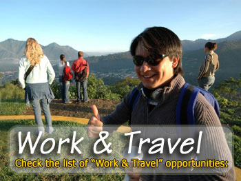 Jobs abroad, gap year placements and internships